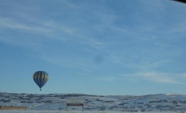 hot air balloon park city
