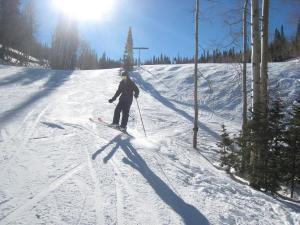 little ski jump